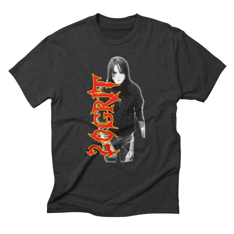 20GRIT - #28a Men's Triblend T-Shirt by 20grit's Band Artist Shop
