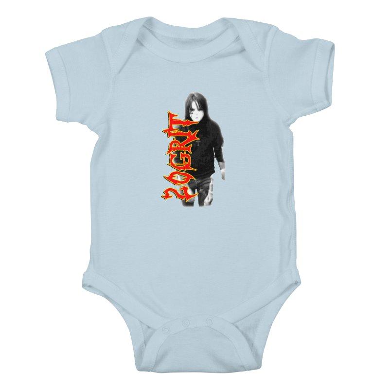20GRIT - #28a Kids Baby Bodysuit by 20grit's Band Artist Shop