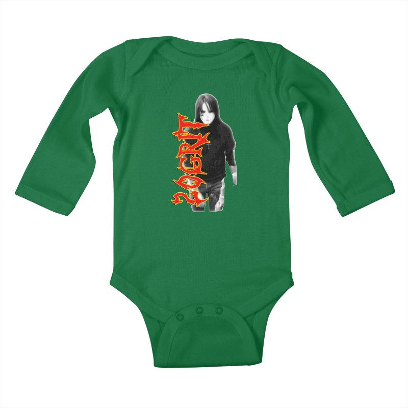 20GRIT - #28a Kids Baby Longsleeve Bodysuit by 20grit's Band Artist Shop