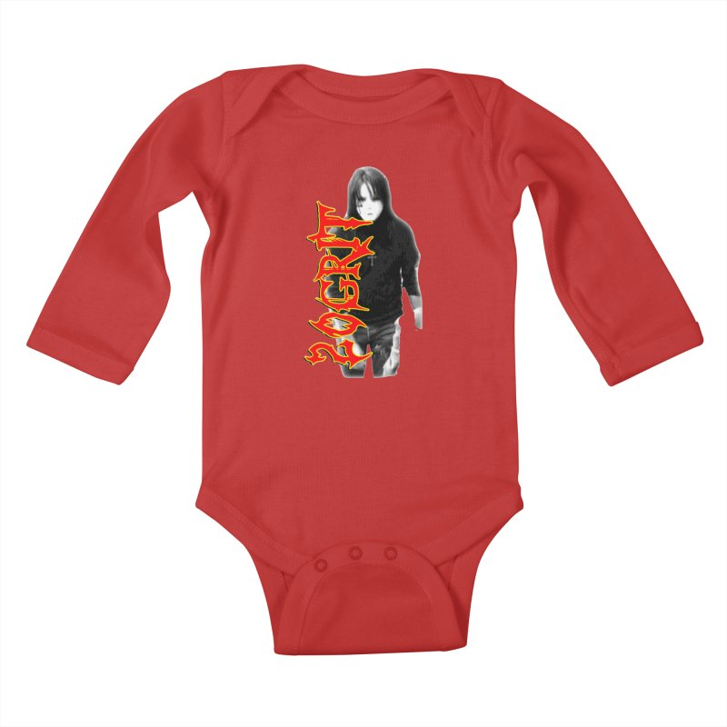 20GRIT - #28a Kids Baby Longsleeve Bodysuit by 20grit's Band Artist Shop
