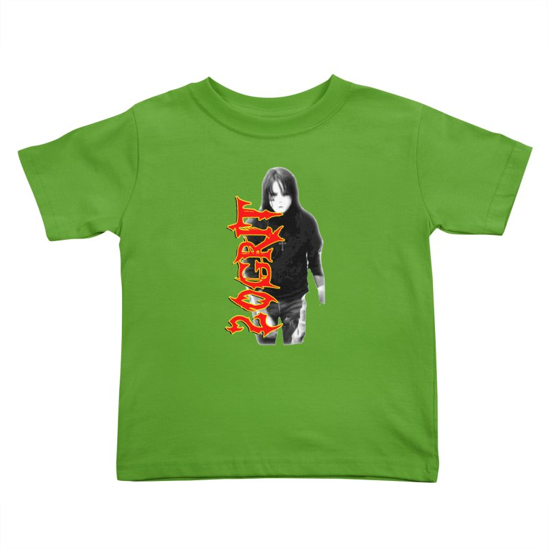 20GRIT - #28a Kids Toddler T-Shirt by 20grit's Band Artist Shop