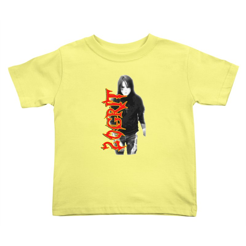 20GRIT - #28a Kids Toddler T-Shirt by 20grit's Band Artist Shop