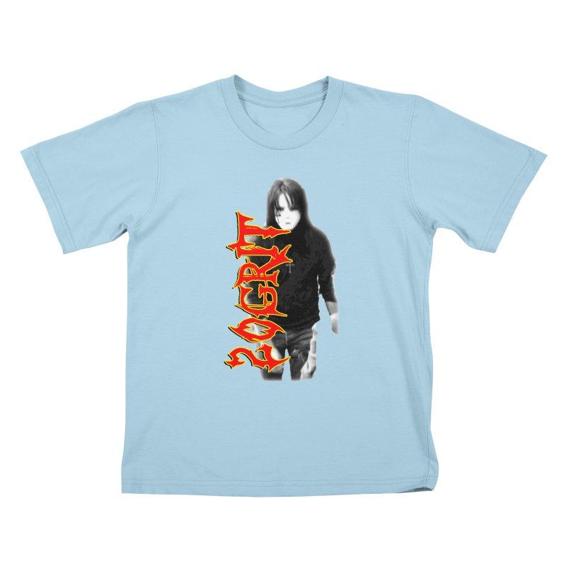 20GRIT - #28a Kids T-Shirt by 20grit's Band Artist Shop