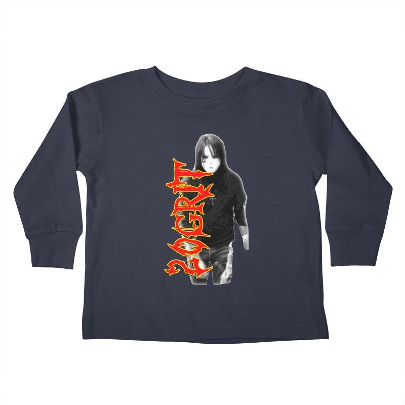 20GRIT - #28a Kids Toddler Longsleeve T-Shirt by 20grit's Band Artist Shop
