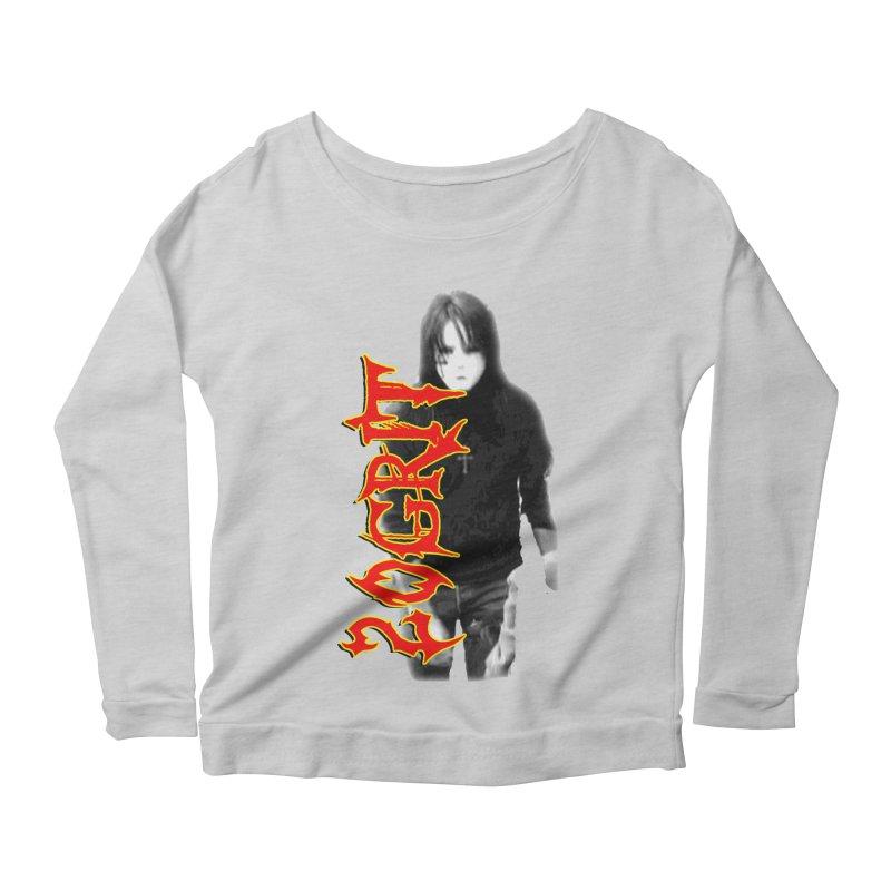 20GRIT - #28a Women's Scoop Neck Longsleeve T-Shirt by 20grit's Band Artist Shop