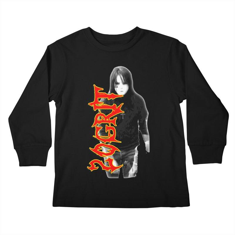 20GRIT - #28a Kids Longsleeve T-Shirt by 20grit's Band Artist Shop