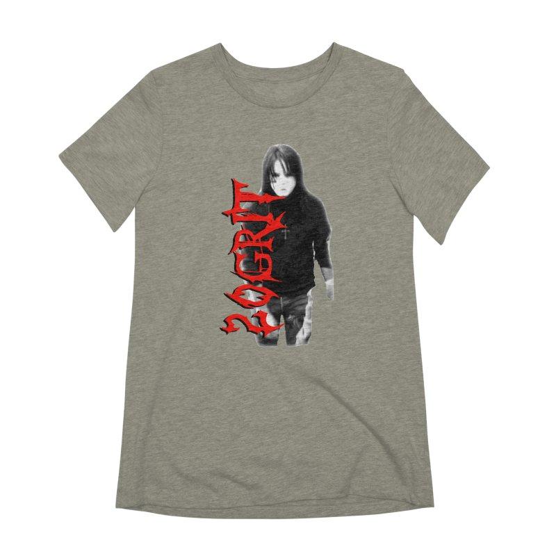 20GRIT - #27a Women's Extra Soft T-Shirt by 20grit's Band Artist Shop