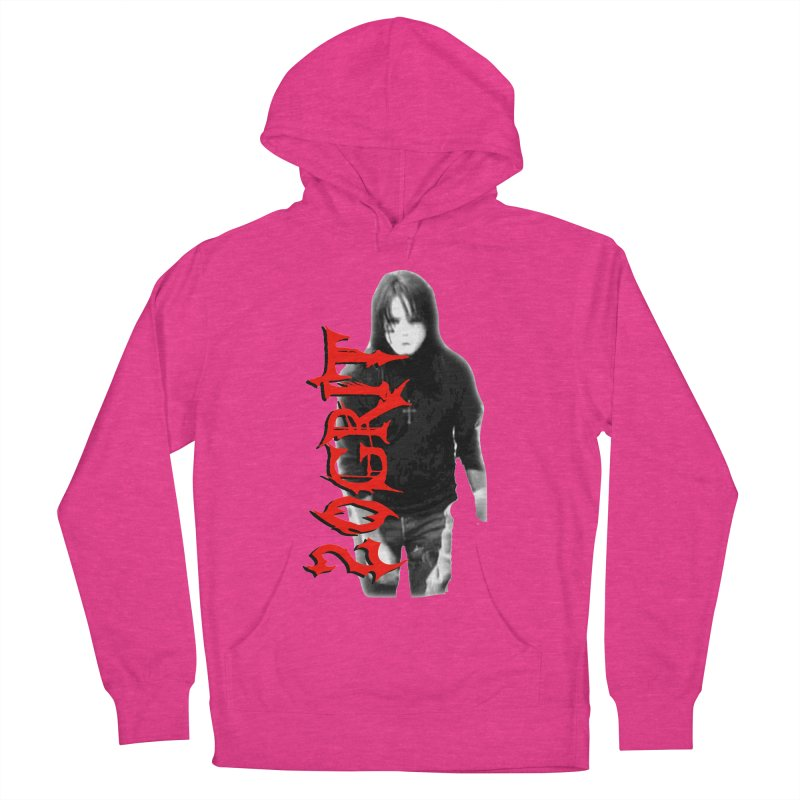 20GRIT - #27a Women's French Terry Pullover Hoody by 20grit's Band Artist Shop