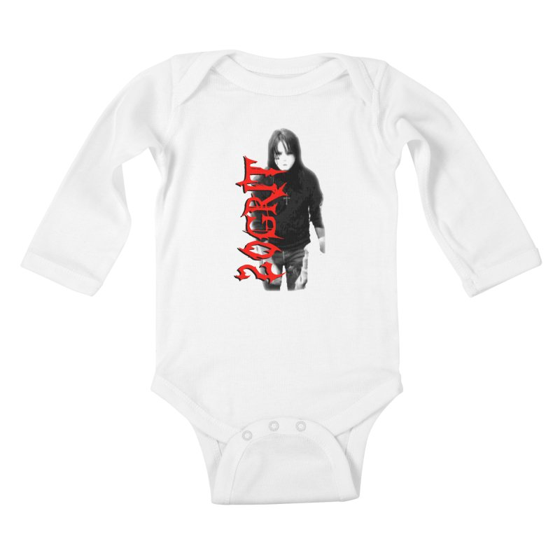 20GRIT - #27a Kids Baby Longsleeve Bodysuit by 20grit's Band Artist Shop