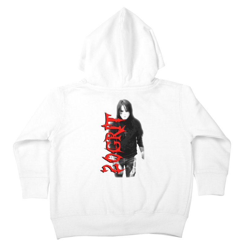 20GRIT - #27a Kids Toddler Zip-Up Hoody by 20grit's Band Artist Shop