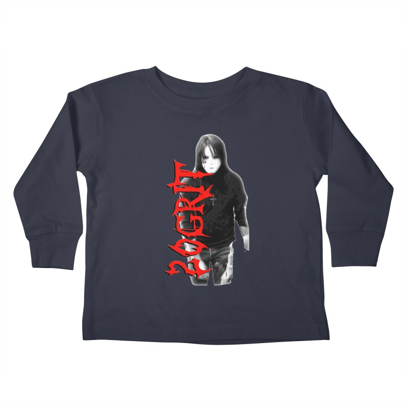 20GRIT - #27a Kids Toddler Longsleeve T-Shirt by 20grit's Band Artist Shop