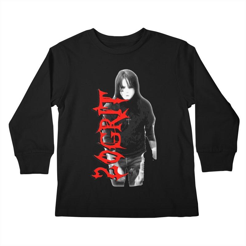 20GRIT - #27a Kids Longsleeve T-Shirt by 20grit's Band Artist Shop