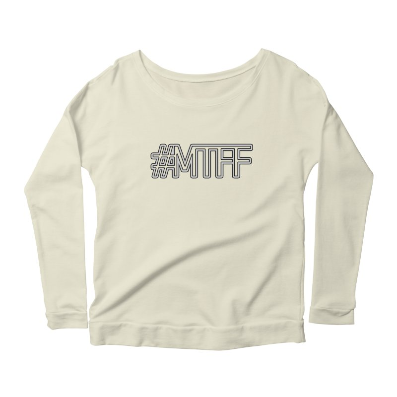 #MTFF Women's Scoop Neck Longsleeve T-Shirt by 21 Squirrels Brewery Shop