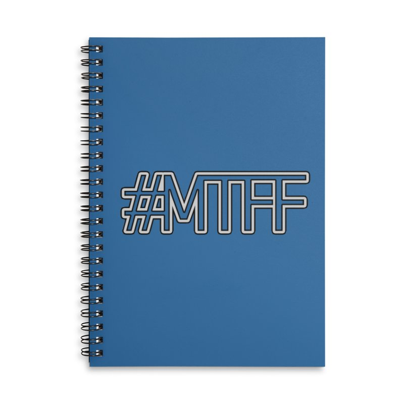 #MTFF Accessories Lined Spiral Notebook by 21 Squirrels Brewery Shop