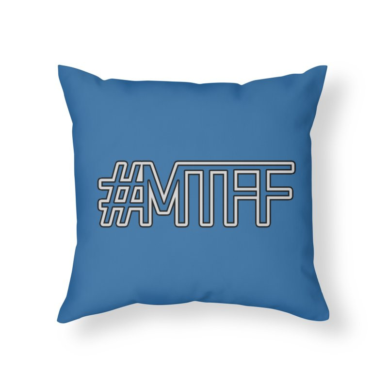 #MTFF Home Throw Pillow by 21 Squirrels Brewery Shop