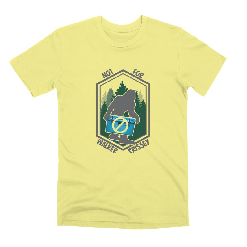 No Yeti For You Men's Premium T-Shirt by 21 Squirrels Brewery Shop