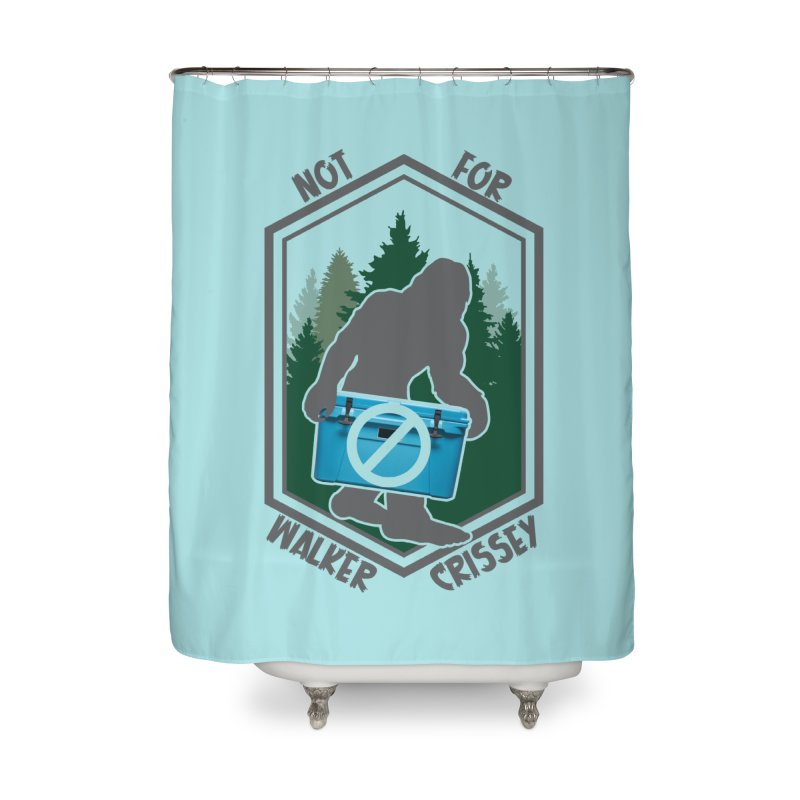 No Yeti For You Home Shower Curtain by 21 Squirrels Brewery Shop