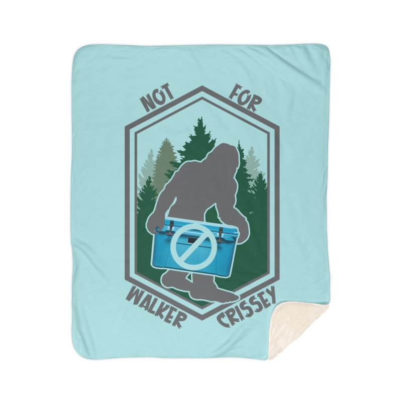 No Yeti For You Home Sherpa Blanket Blanket by 21 Squirrels Brewery Shop