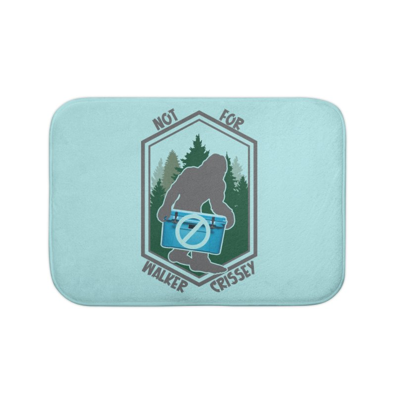 No Yeti For You Home Bath Mat by 21 Squirrels Brewery Shop