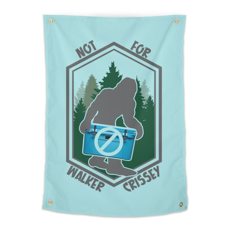 No Yeti For You Home Tapestry by 21 Squirrels Brewery Shop