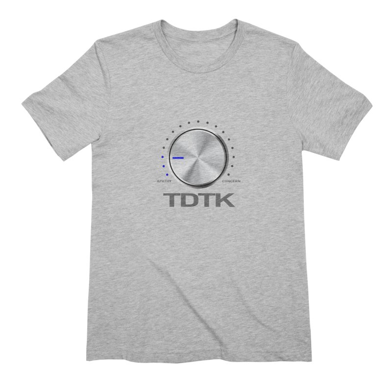 Turn Down The Knob - TDTK Men's Extra Soft T-Shirt by 21 Squirrels Brewery Shop