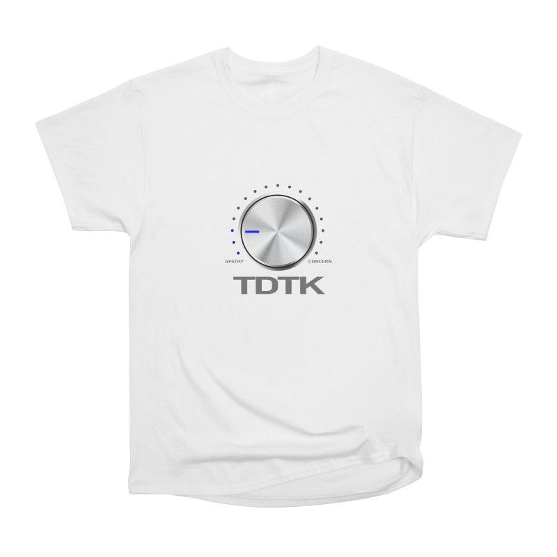 Turn Down The Knob - TDTK Women's Heavyweight Unisex T-Shirt by 21 Squirrels Brewery Shop