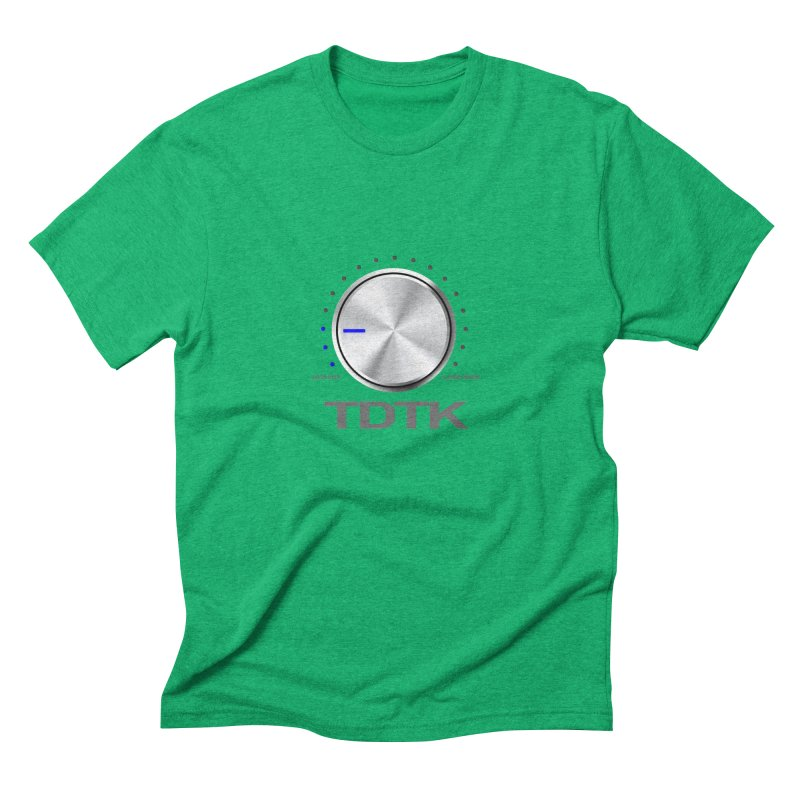 Turn Down The Knob - TDTK Men's Triblend T-Shirt by 21 Squirrels Brewery Shop