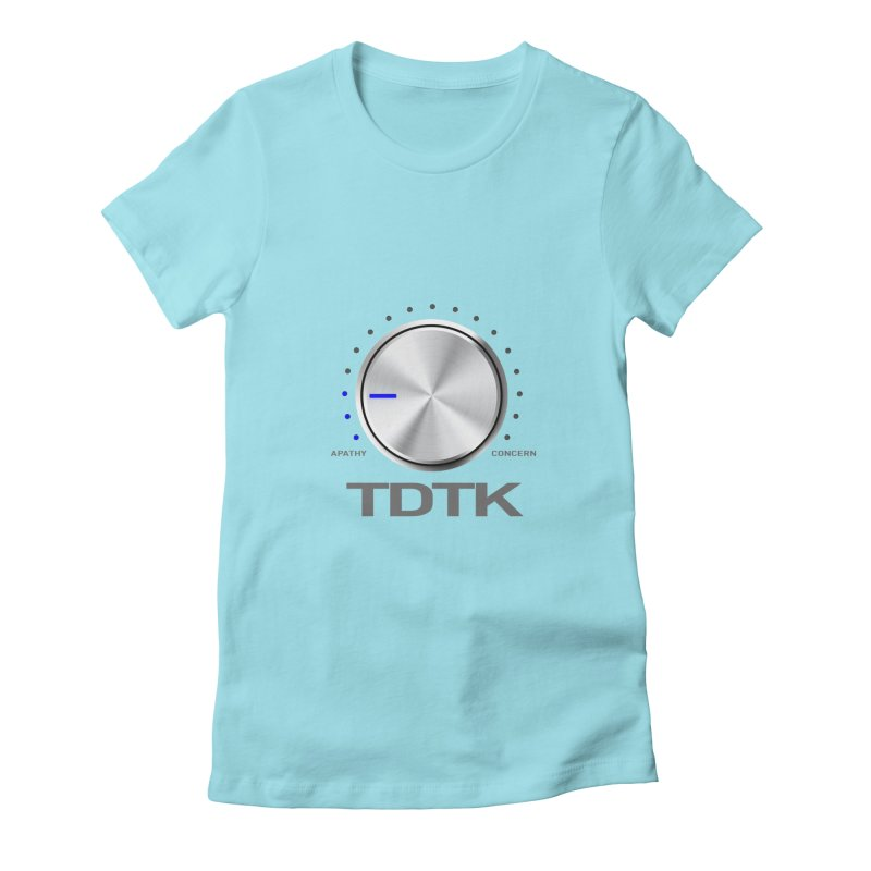 Turn Down The Knob - TDTK Women's Fitted T-Shirt by 21 Squirrels Brewery Shop