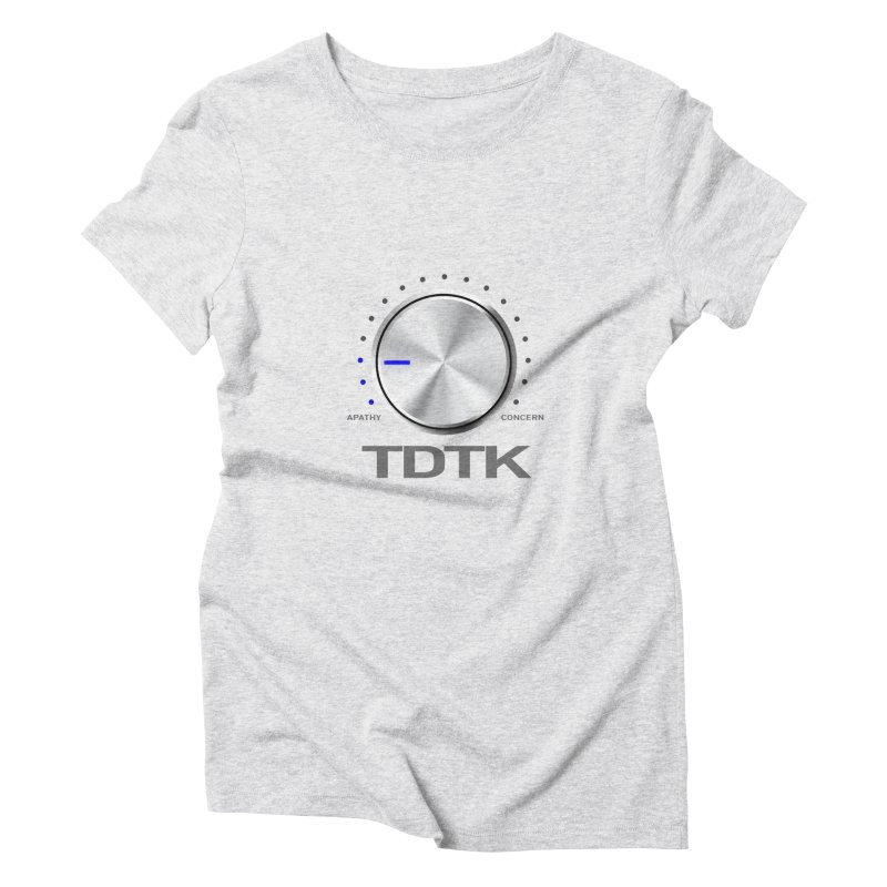 Turn Down The Knob - TDTK Women's Triblend T-Shirt by 21 Squirrels Brewery Shop