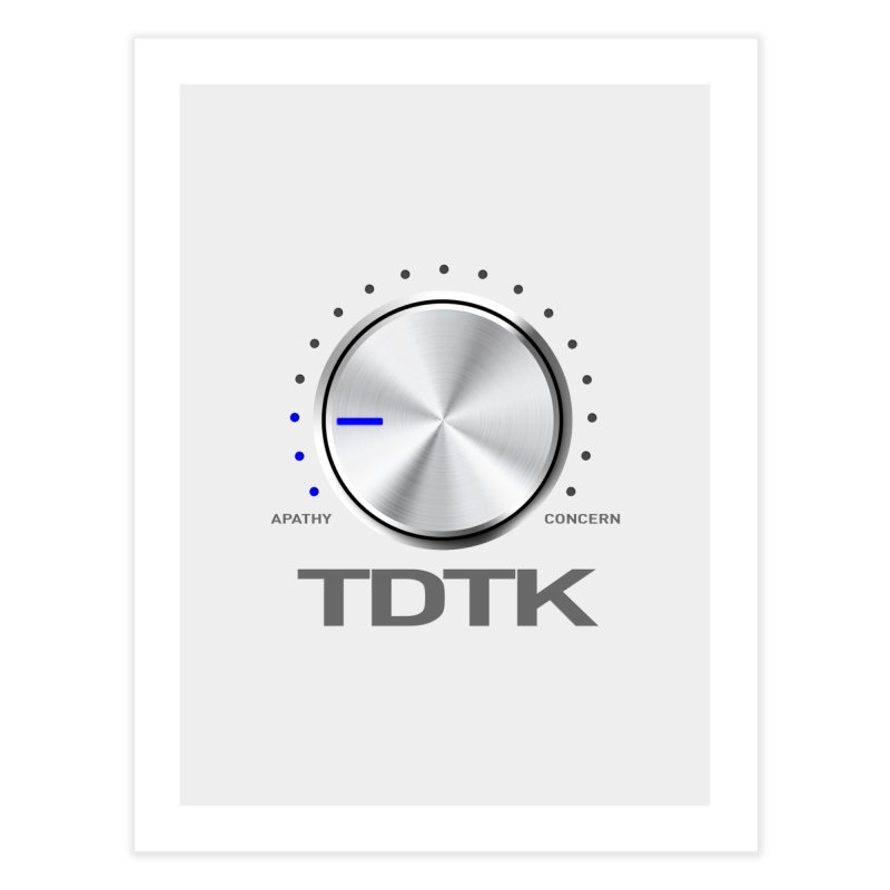 Turn Down The Knob - TDTK Home Fine Art Print by 21 Squirrels Brewery Shop