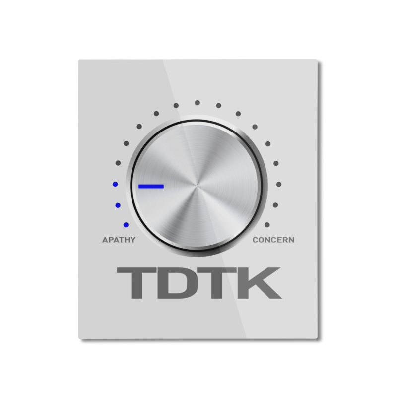 Turn Down The Knob - TDTK Home Mounted Aluminum Print by 21 Squirrels Brewery Shop