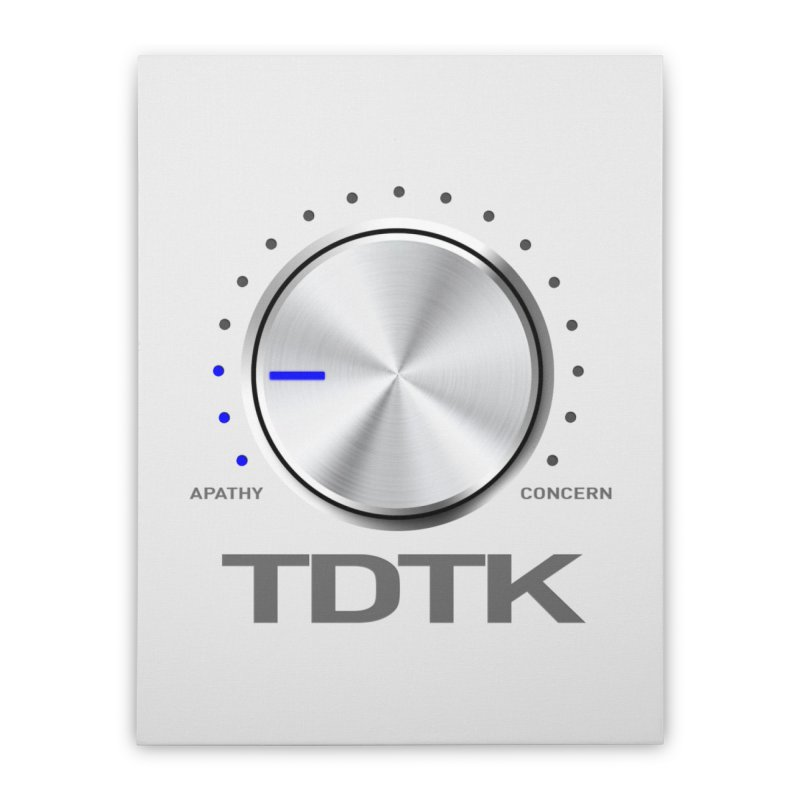 Turn Down The Knob - TDTK Home Stretched Canvas by 21 Squirrels Brewery Shop