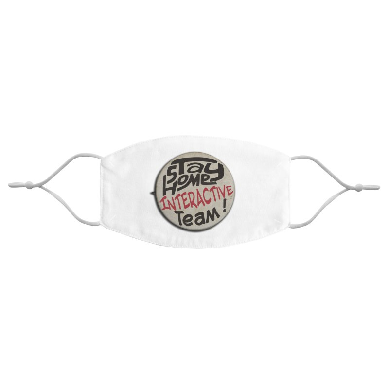 Stay Home Interactive Team Button Accessories Face Mask by 21 Squirrels Brewery Shop