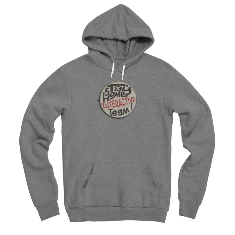 Stay Home Interactive Team Button Women's Pullover Hoody by 21 Squirrels Brewery Shop