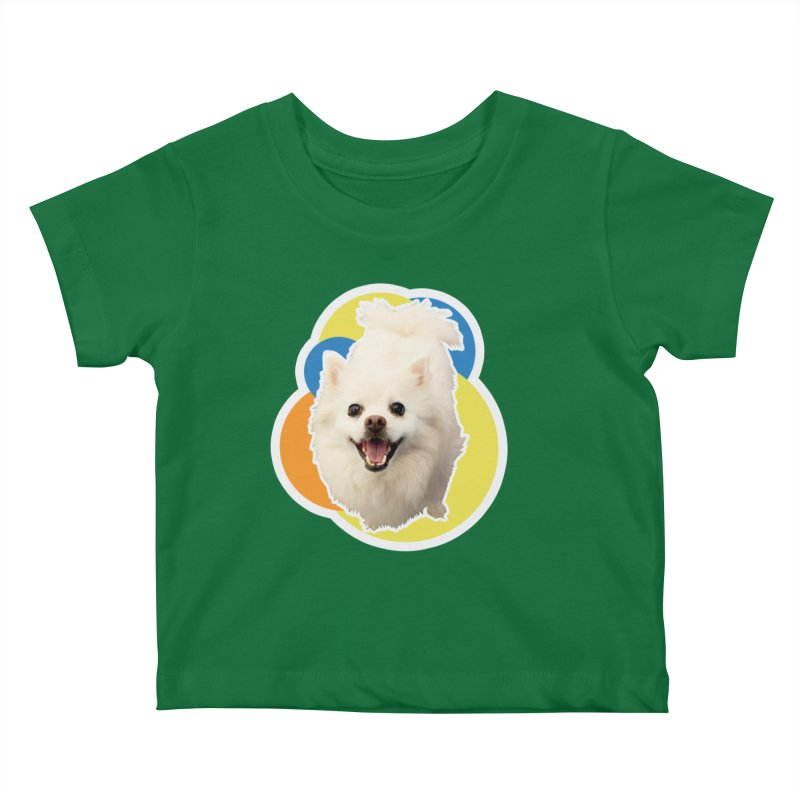 Connie is always happy Kids Baby T-Shirt by 21 Squirrels Brewery Shop
