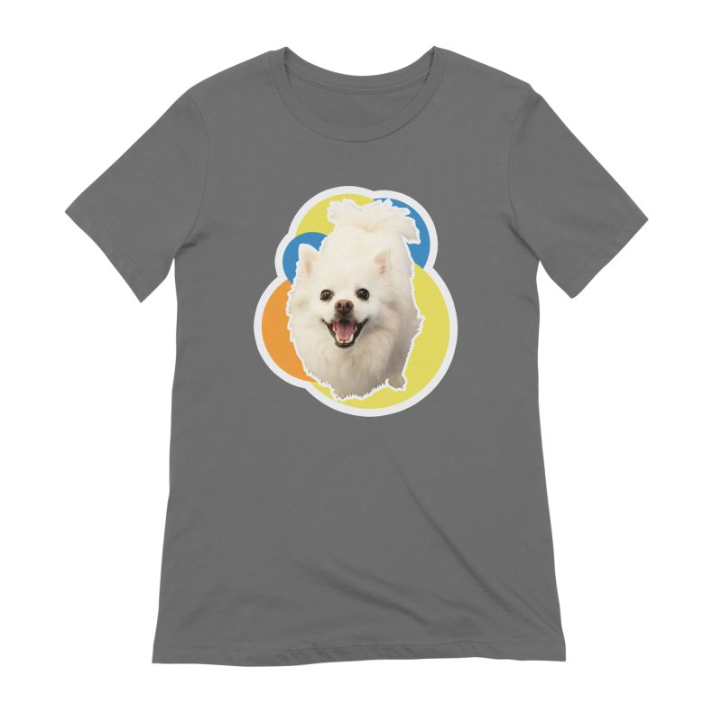 Connie is always happy Women's T-Shirt by 21 Squirrels Brewery Shop