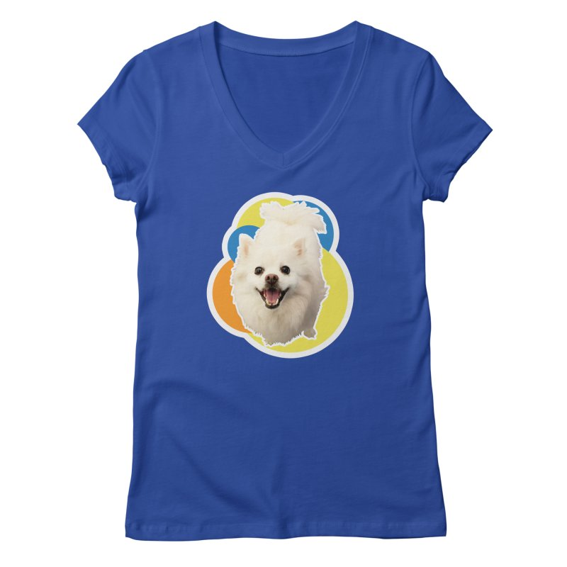 Connie is always happy Women's V-Neck by 21 Squirrels Brewery Shop