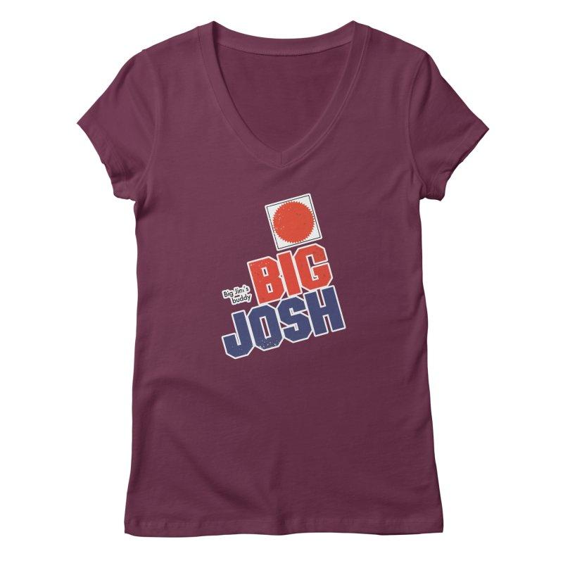 Big Josh Women's V-Neck by 21 Squirrels Brewery Shop