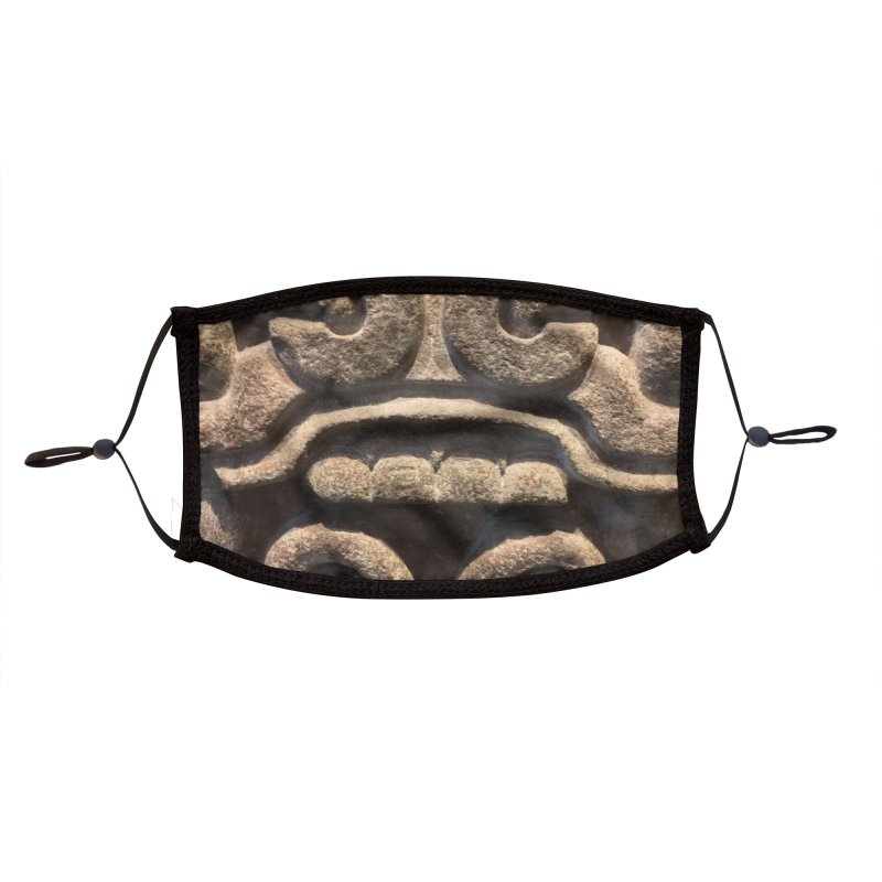 Aztec Face Mask 1 Accessories Face Mask by 21 Squirrels Brewery Shop