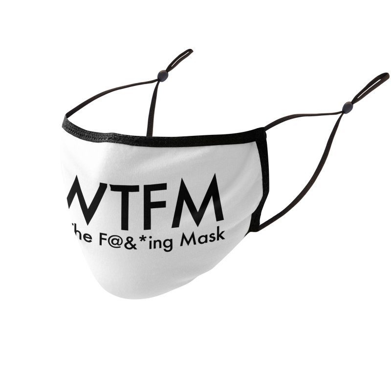 Wear The F@&*ing Mask Accessories Face Mask by 21 Squirrels Brewery Shop
