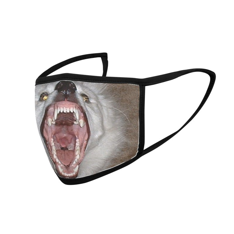 Cala is Fierce Accessories Face Mask by 21 Squirrels Brewery Shop