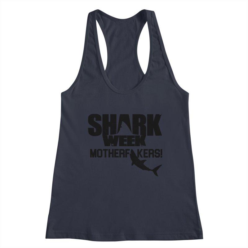 Big Gretch Shark Week Mother Fers Women's Tank by 21 Squirrels Brewery Shop