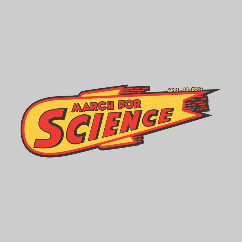 March For Science - Retro Logo Kids T-Shirt by 21 Squirrels Brewery Shop