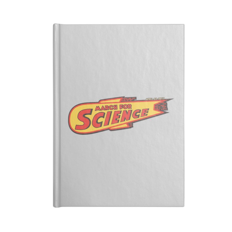 March For Science - Retro Logo Accessories Notebook by 21 Squirrels Brewery Shop