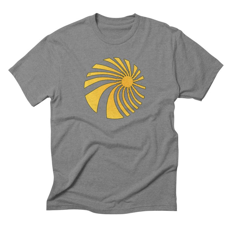 No. 21 Swirl Men's Triblend T-shirt by 21 Squirrels Brewery Shop