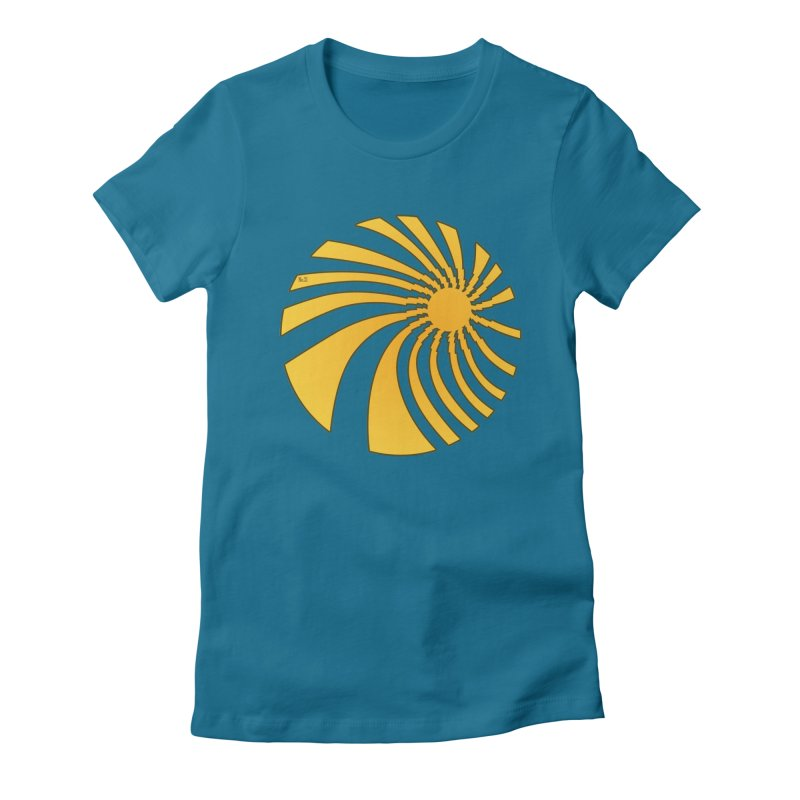 No. 21 Swirl Women's Fitted T-Shirt by 21 Squirrels Brewery Shop