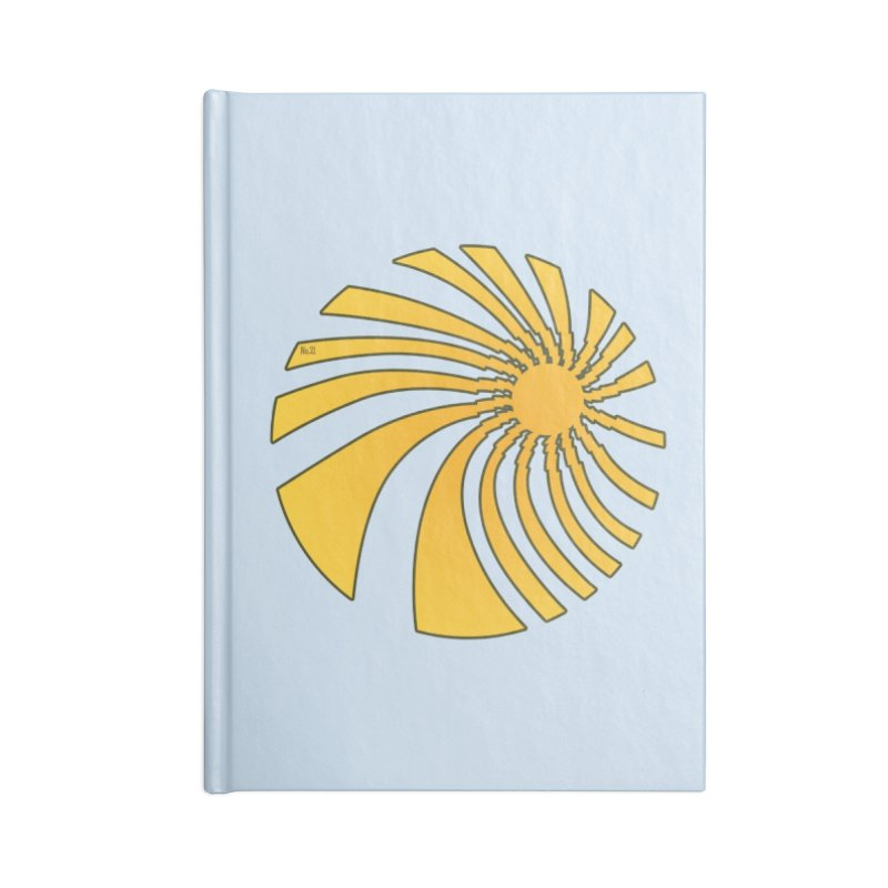 No. 21 Swirl Accessories Notebook by 21 Squirrels Brewery Shop