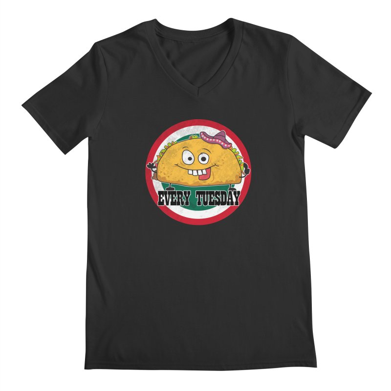 Every Tuesday Men's V-Neck by 21 Squirrels Brewery Shop