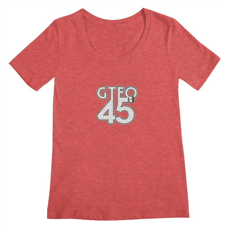 GTFO45 Women's Scoopneck by 21 Squirrels Brewery Shop