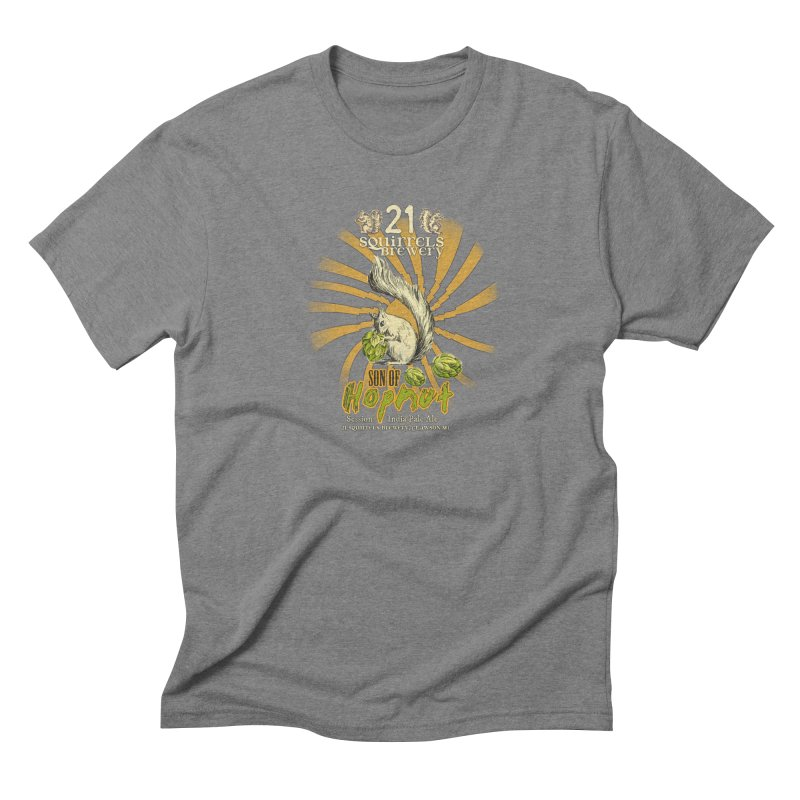 21 Squirrels Brewery Son of Hopnut Men's Triblend T-shirt by 21 Squirrels Brewery Shop
